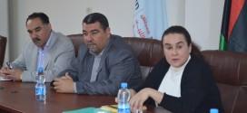 لقاء مع رئيسة المكتب التمثيلي لمصرف أبوظبي الوطني في ليبيا