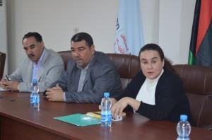 لقاء مع رئيسة المكت التمثيلي لمصرف أبوظبي الوطني في ليبيا